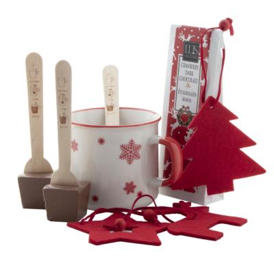 suklaa joululahjasetti