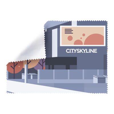 Mikrofiber puhdistusliina logolla